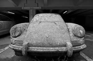 Betonporsche by Gottfried Bechtold at University of Konstanz