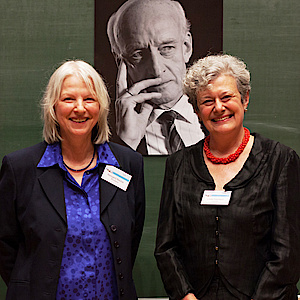 Linda Hutcheon and Reingard M. Nischik in Konstanz