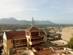 View over Isiolo (Kenia)
