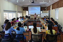 "Opening words of the workshop ""Doing fieldwork in Myanmar"" by Prof. Dr. Judith Beyer."