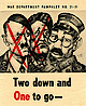cartoon of Hitler, Mussolini and Hirohito
